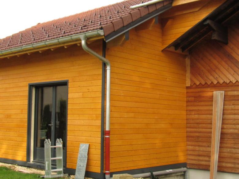 agrandissement extension ossature bois