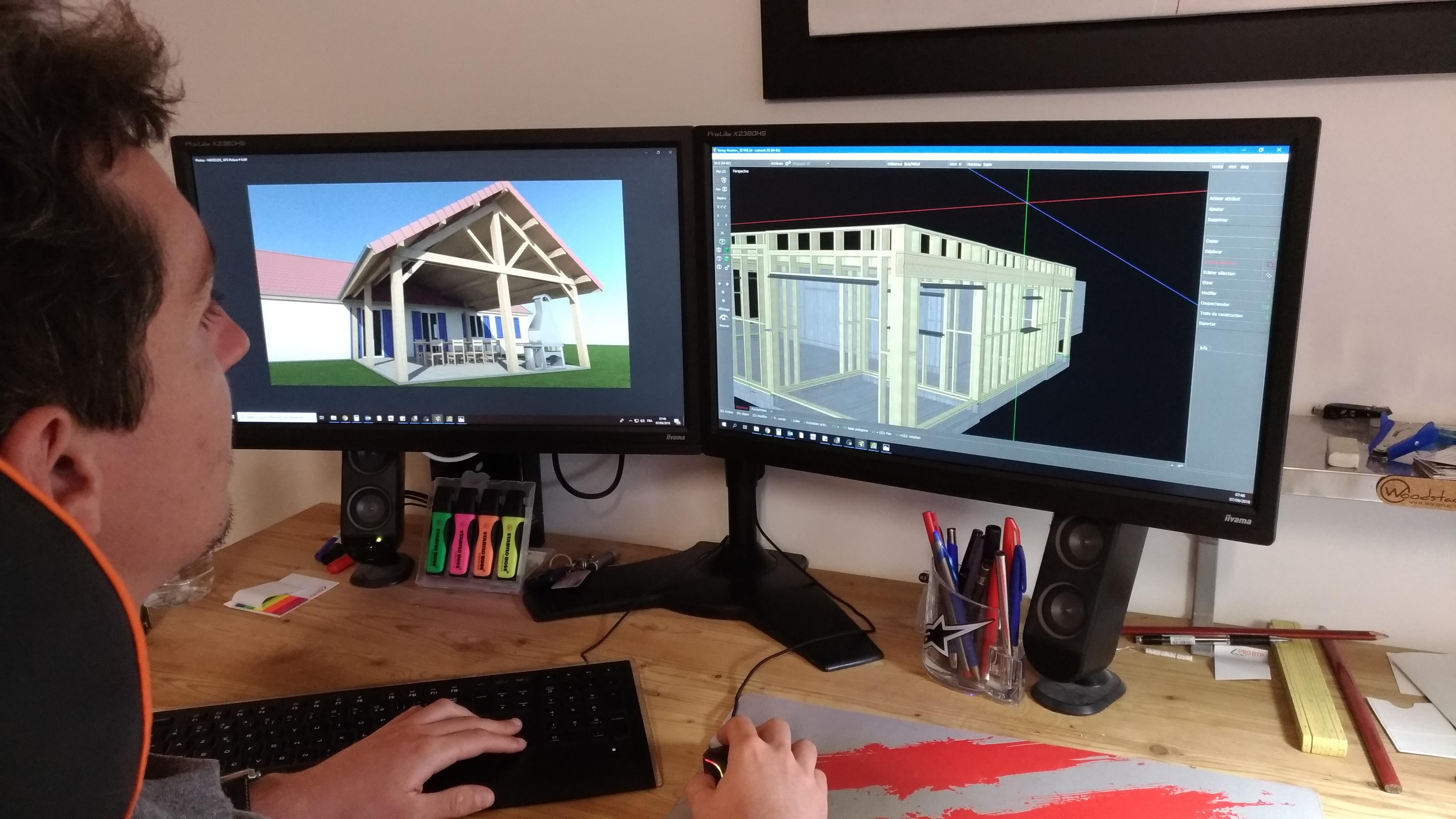 bureau d'étude dessin 3D